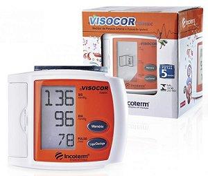Medidor de Pressão Digital Visocor Pulso Laranja Incoterm 29846.4