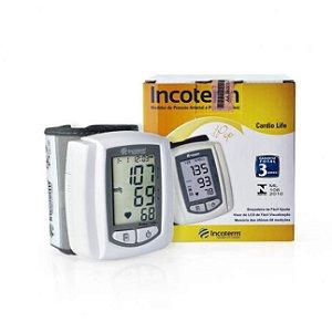 Medidor de Pressão Digital Cardio Life Pulso Incoterm 29837