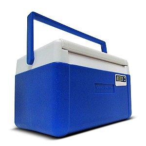 Caixa Térmica EasyCooler com Termômetro 5 Litros - EasyPath Com 6 Pontos de Calibração Acreditada