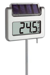 Termômetro Digital para Jardim Iluminação à Energia Solar AVENUE Incoterm 30.2026