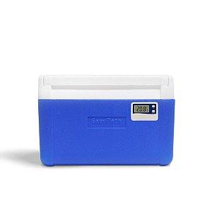 Caixa Térmica 5 Litros  com Termômetro EasyCooler - EasyPath Com 3 Pontos de Calibração Acreditada