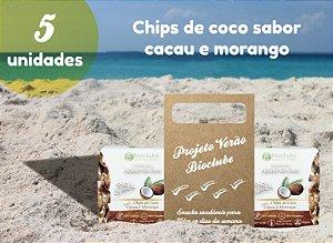 |5 unidades| Chips de coco