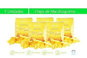 5 Unidades Chips de Mandioquinha