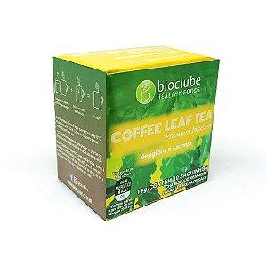 Chá de folha de café com gengibre e laranja - kit com 5 unidades