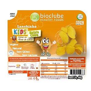 Lanchinho Kids Batata Chips - pack com 4 unidades