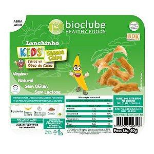 Lanchinho Kids chips de Banana da Terra - pack com 4 unidades