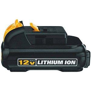 Bateria De Li-Ion De 12v Max 1,3 Ah 15,5 Wh Dcb120 - Dewalt