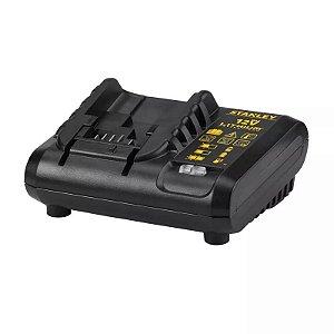 Carregador De Bateria 12v Max Bivolt Sc121 Stanley