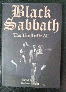 BLACK SABBATH - THE THRILL OF IT ALL : por: TANGYE DAVID | WRIGHT GRAHAM