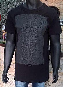 T-Shirt Long Folha