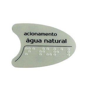 Adesivo IBBL Cinza Tecla Frontal BDF/PDF/SMART H2O