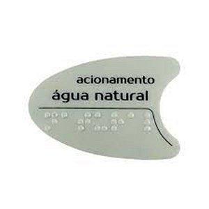 Adesivo IBBL Cinza Tecla Lateral BDF/PDF/SMART H2O