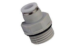 Conector Macho Engate Rápido Rosca 1/2 Mangueira 8mm
