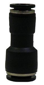 Conector Redução Reto 8mm x 1/4