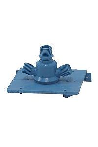 Suporte do Filtro Rotulo Azul 22,5mm Mangueira 1/4