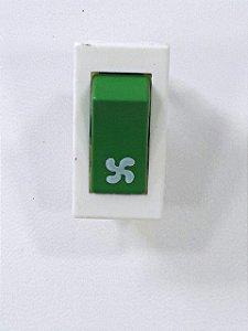 Interruptor Tecla Verde Refrigeração Refresqueira IBBL BBS 1/2
