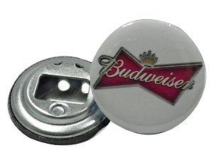 Chaveiro Abridor de Garrafa 5,5 Cm Budweiser