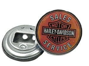 Chaveiro Abridor de Garrafa 5,5 Cm Harley-Davidson