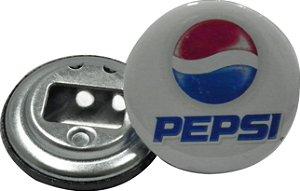 Chaveiro Abridor de Garrafa 5,5 Cm Pepsi