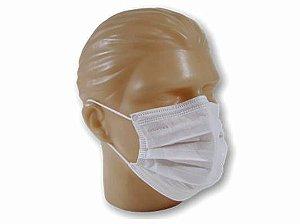 Mascara Descatável Com Elástico 100 Unidades