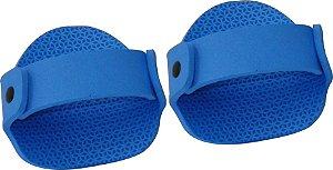 Luvas Musculação em E.V.A Azul Masculino ( Par )