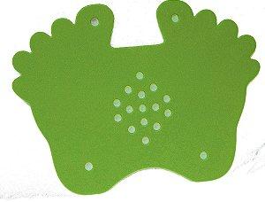 Tapete tipo Pezão de E.V.A Verde