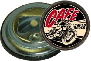Chaveiro Abridor de Garrafa 5,5 Cm Cafe Racer