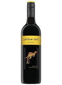 Vinho australiano Yellow Tail Shiraz tinto