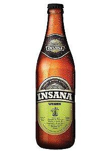 Cerveja Insana Weizen 500 ml