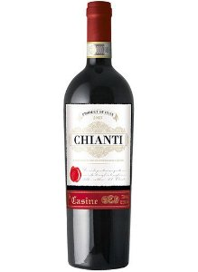 Vinho italiano Le Casine Chianti tinto