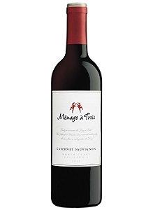 Vinho norte-americano Ménage à Trois Cabernet Sauvigon tinto