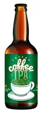 Cerveja Insana Coffee IPA 500 ml