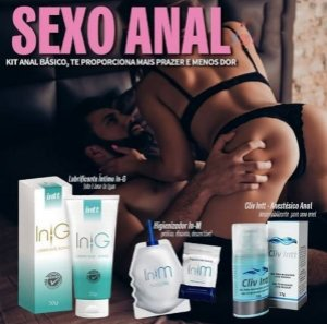 Gel Cliv Anestésico para Sexo Anal 4x1 Intt - 17g