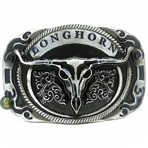 Fivela Country Cowboy Longhorn SC1746
