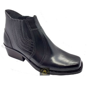 Bota Country Masculina Dallas Black SC1329