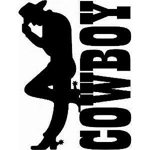 Adesivo Country Cowboy SC3714