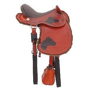 Sela de Cabeça Infantil para Cavalo SC2132