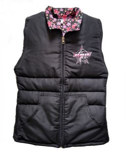 Colete Country Feminino PBR/Floral SC4526