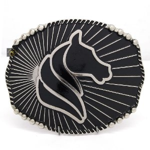 Fivela Country Horse Níquel SC1779