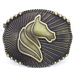 Fivela Country Horse Ouro Velho SC1780