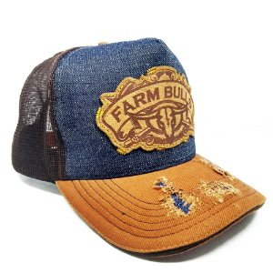 Boné Country Farm Bulls Jeans Gold SC4009