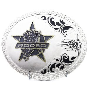 Fivela Country Cowboy Rodeo Star SC1770