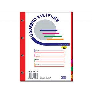 Bloco Universitário Para Fichário 96 Folhas Color R.122912 Tilibra