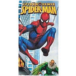 Toalha Aveludada Transfer Homem Aranha Marvel Lepper 4124203