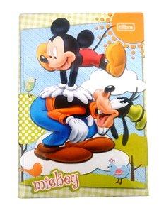 Caderno Brochura 1/4 Capa Dura  96 folhas Mickey R.132462 Tilibra