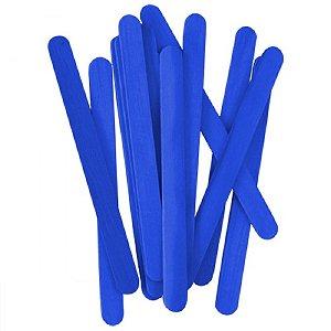 Palito De Sorvete Azul Pacote Com 100 Unidades Theoto 1135812