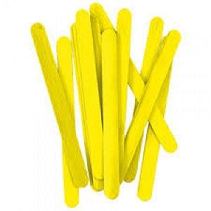 Palito De Sorvete Amarelo Pacote Com 100 Unidades Theoto 1135902