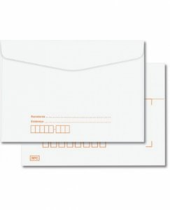 Envelope Carta 114x162 Com RPC Com 1000 Envelomax 10422