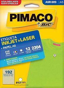 Etiqueta Inkjet/Laser A5Q-909 Pimaco