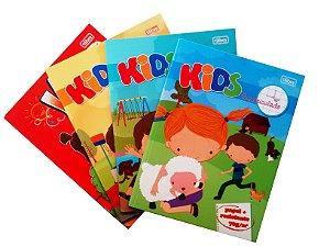 Caderno Quadriculado Kids 1,0x1,0  R.118826 Tilibra
